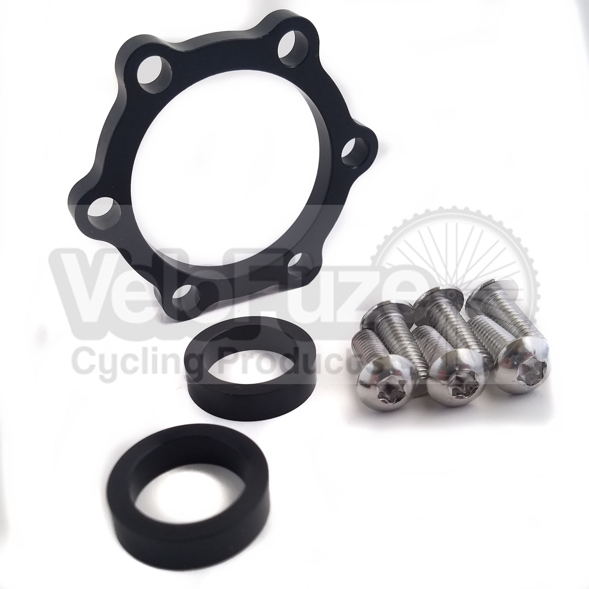 Front Hub Adapter Boost Fork Conversion Kit Thru Axle 15mm x 100mm to 110mm