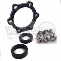 VeloFuze Boost Hub Conversion - 15mm x 100mm to 110mm Black